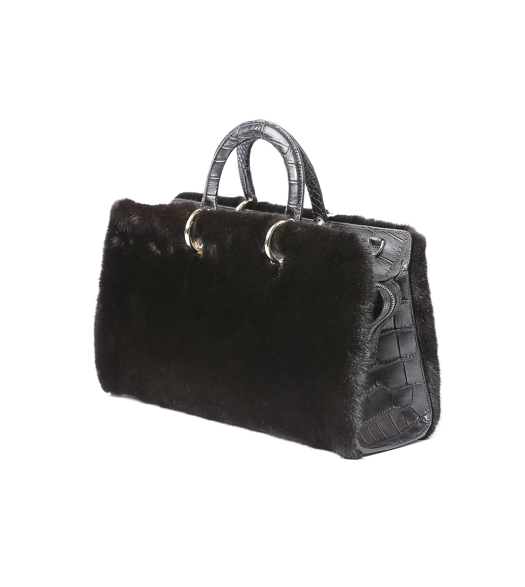 Acc. Mink Bag 50 Black 14-379-82